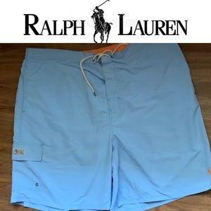 Big and tall men's Ralph Lauren swim trunks 3XB